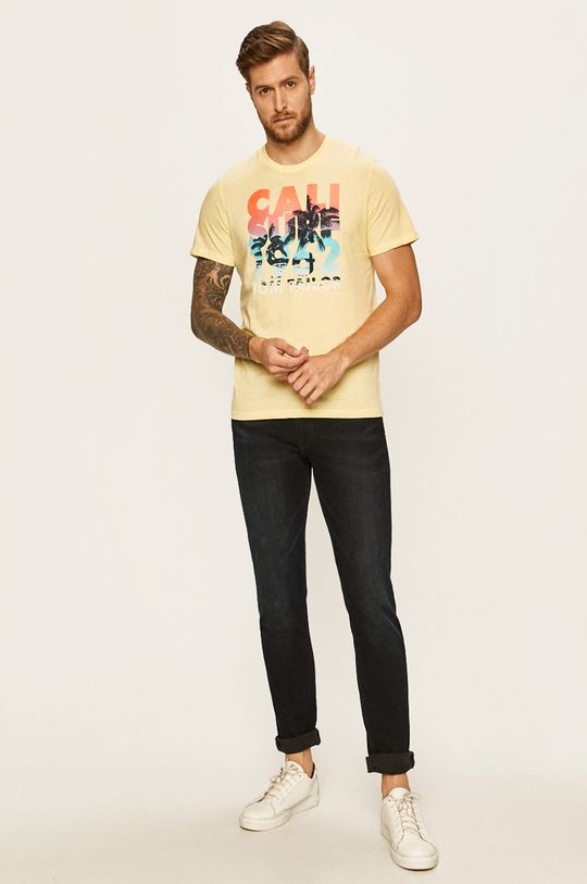 Tom Tailor Denim - Tričko žlutá