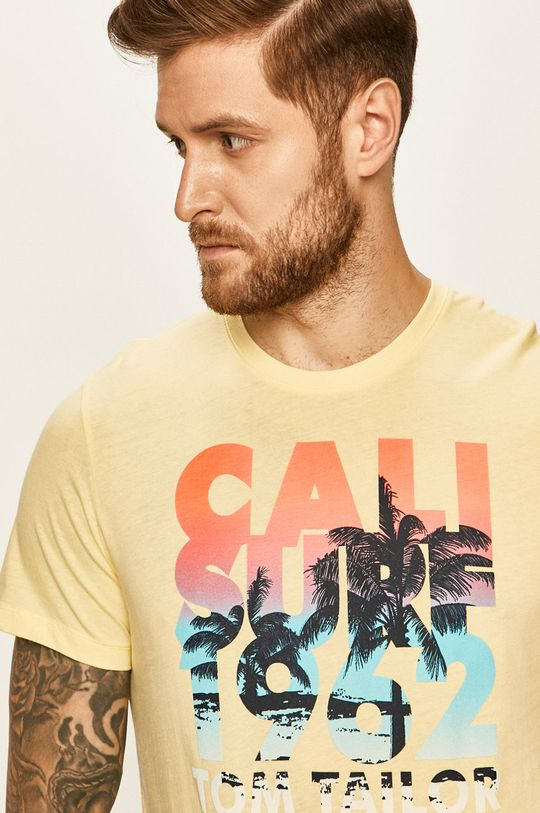 žlutá Tom Tailor Denim - Tričko