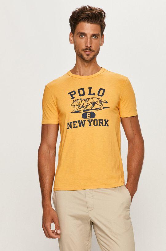 žlutá Polo Ralph Lauren - Tričko Pánský