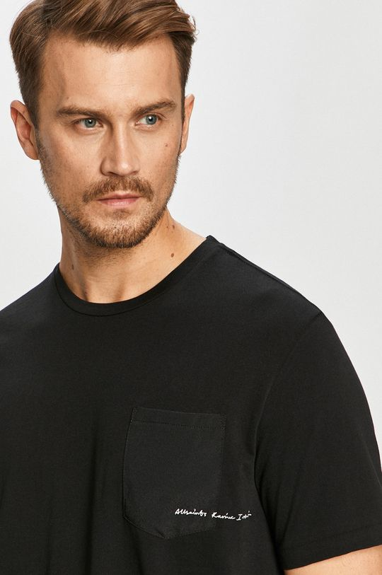 negru AllSaints - Tricou