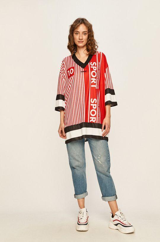 Hummel - Pánske tričko červená