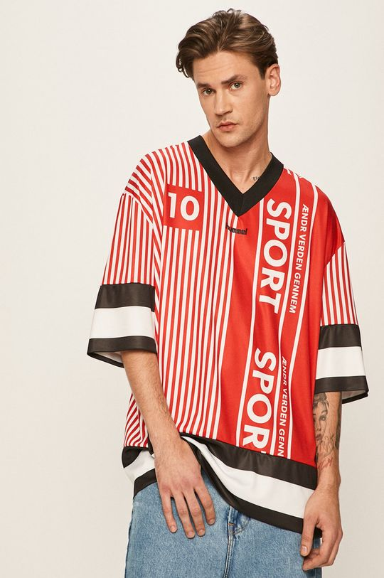Hummel - Pánske tričko  100% Polyester
