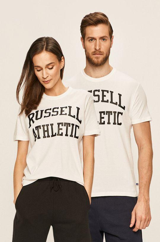 alb Russel Athletic - Tricou Unisex