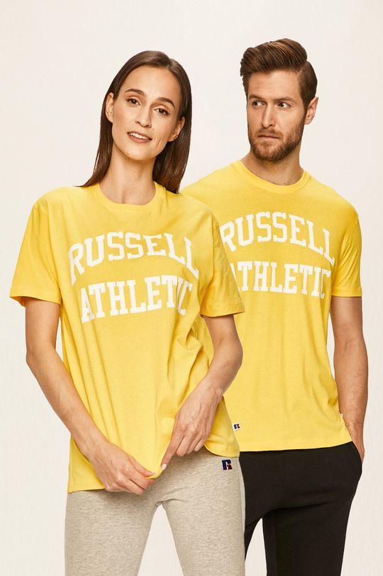 žlutá Russell Athletic - Tričko Unisex