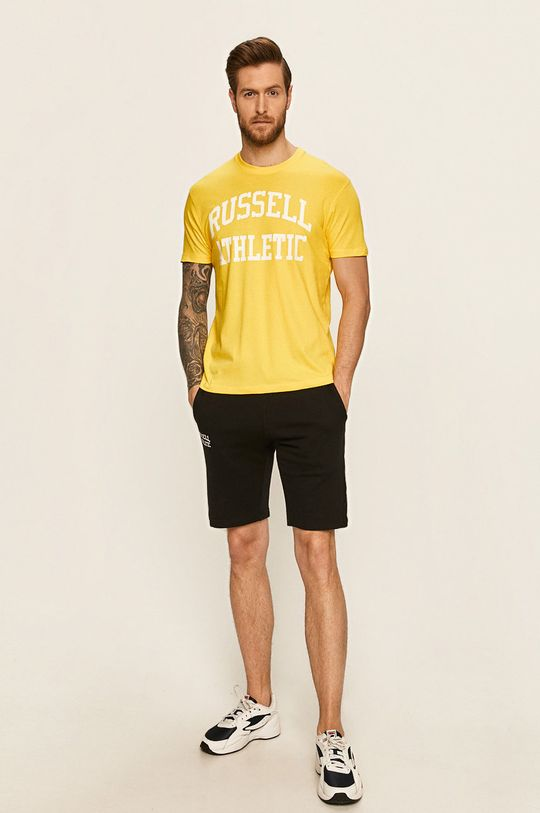 Russell Athletic - Tričko žlutá