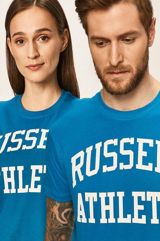 světle modrá Russell Athletic - Tričko Unisex