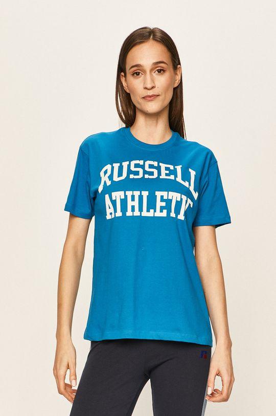 Russell Athletic - Tričko světle modrá