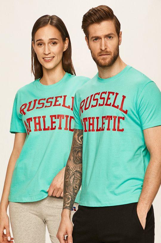turcoaz Russel Athletic - Tricou Unisex