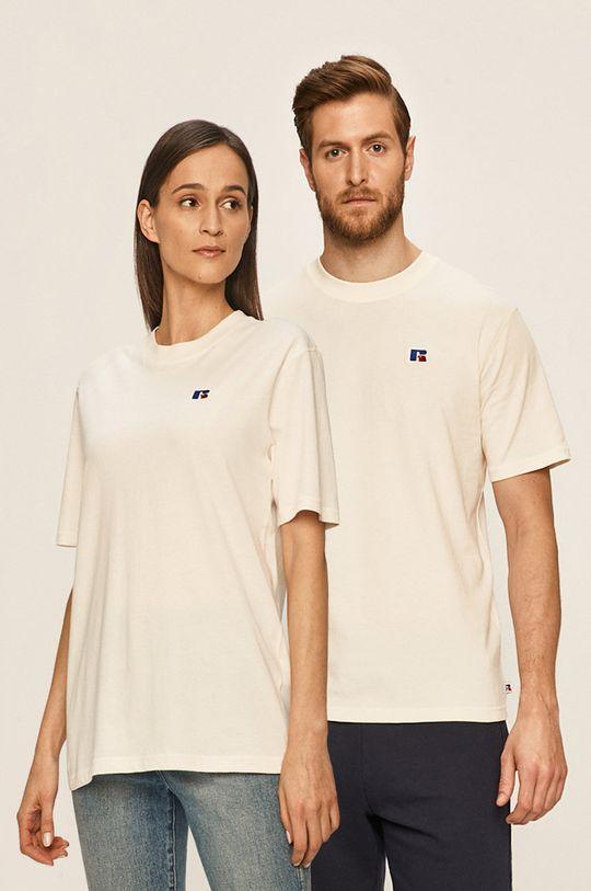 smetanová Russell Athletic - Tričko Unisex