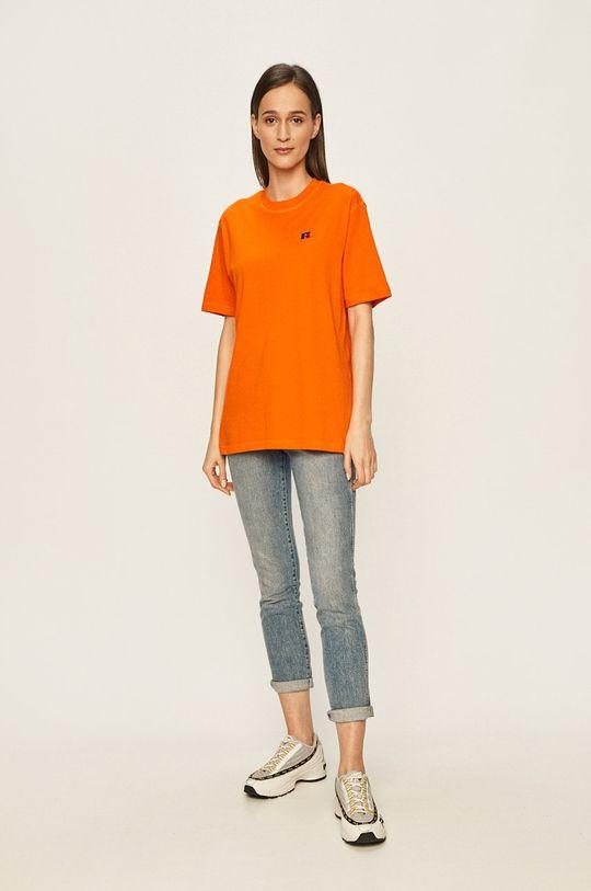 Russell Athletic - Tričko oranžová