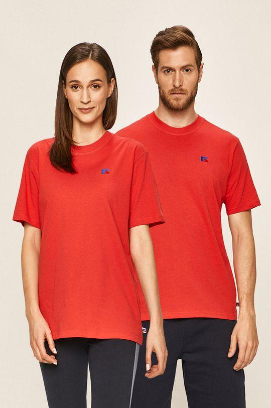 červená Russel Athletic - Tričko Unisex
