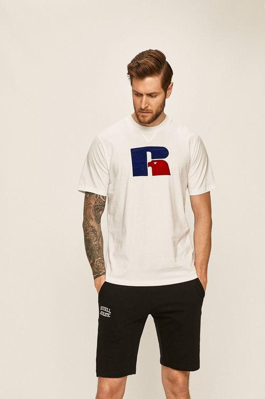 Russell Athletic - Tričko bílá
