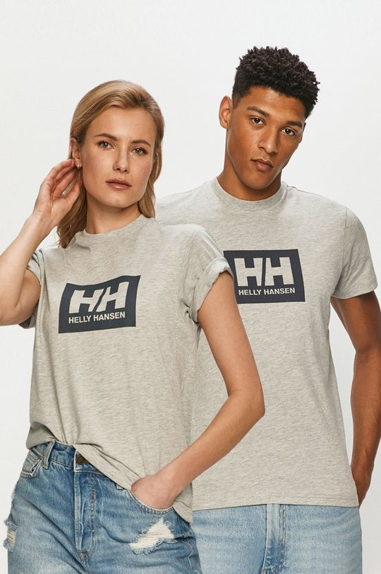 szary Helly Hansen - T-shirt Unisex