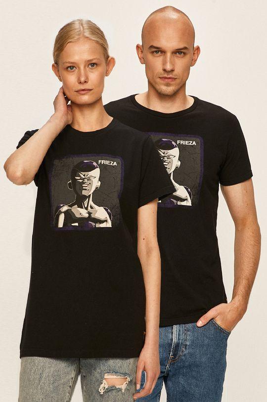 czarny Capslab - T-shirt X Dragon Ball Z Unisex