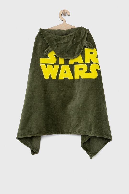GAP - Ręcznik dziecięcy brudny zielony