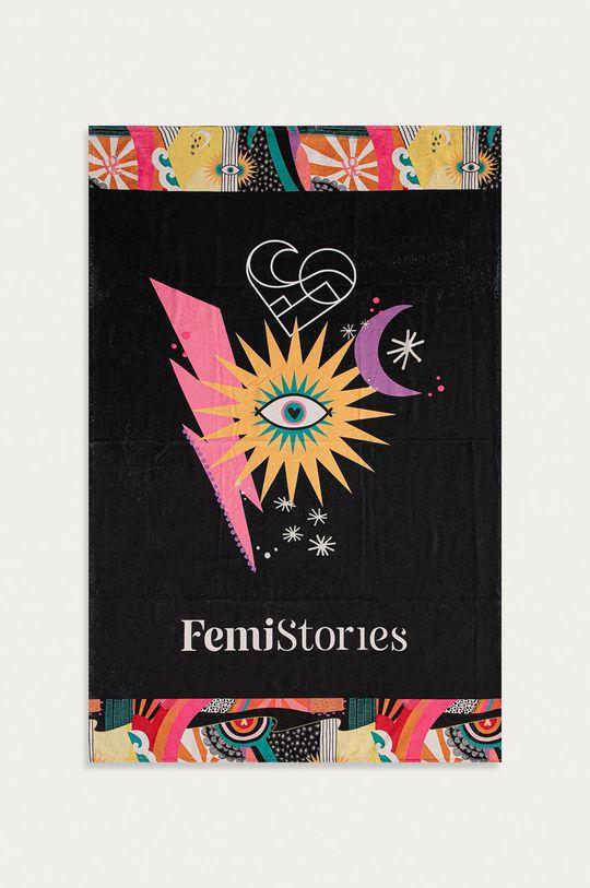 czarny Femi Stories - Ręcznik Park Damski