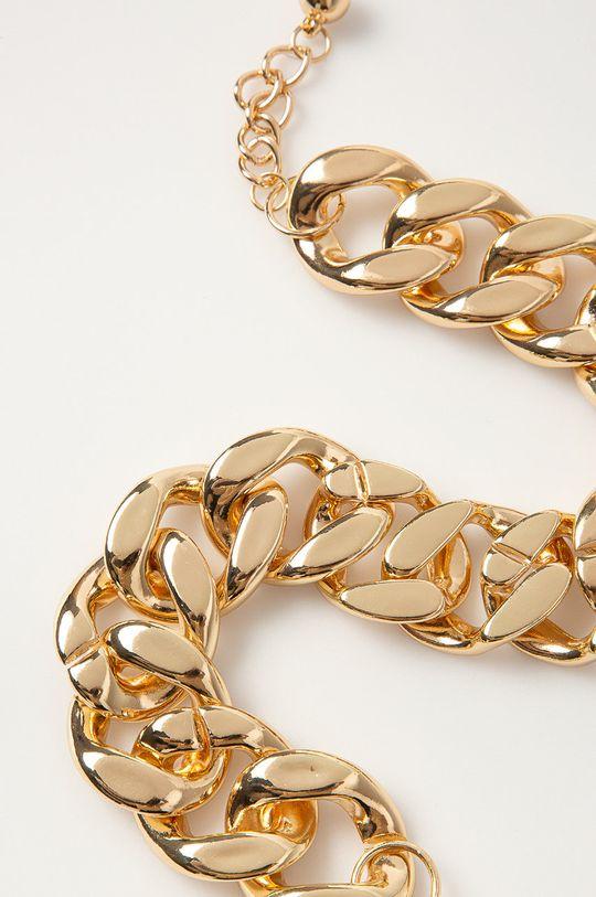 Pieces - Náhrdelník zlatá