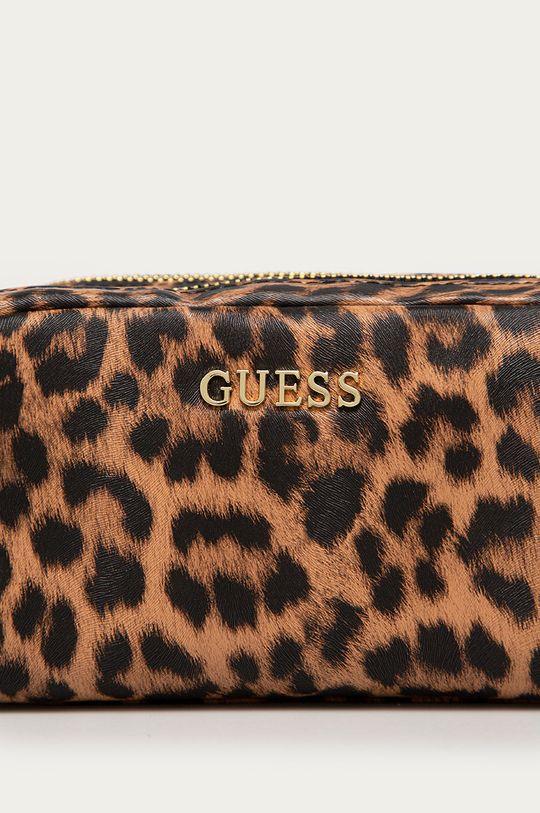 Guess - Kosmetyczka brązowy