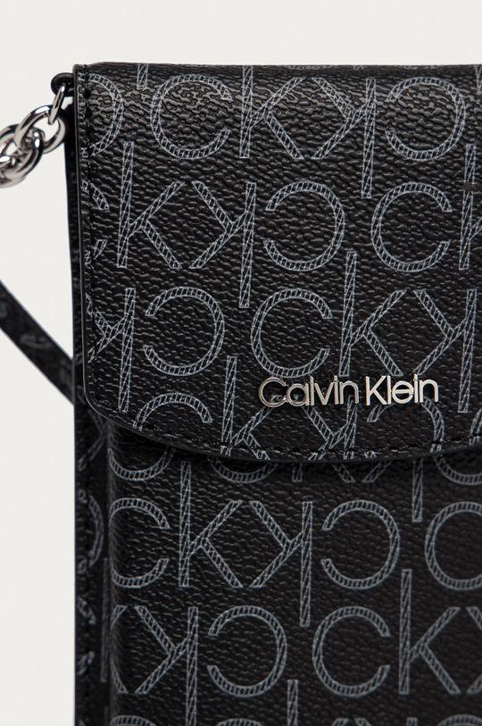 čierna Calvin Klein - Puzdro na mobil