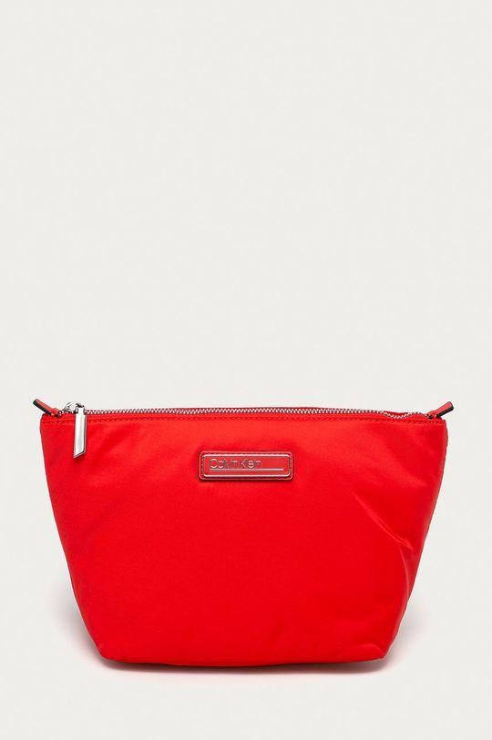 czerwony Calvin Klein - Kosmetyczka Damski