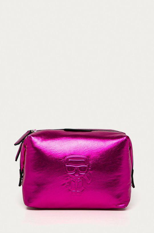 sýto ružová Karl Lagerfeld - Kozmetická taška Dámsky