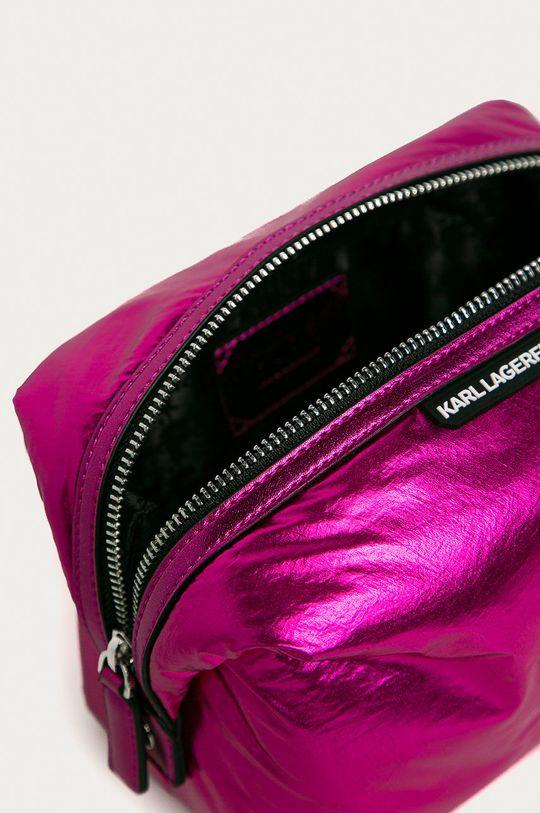 sýto ružová Karl Lagerfeld - Kozmetická taška