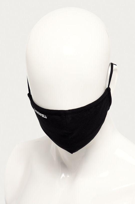 Karl Lagerfeld - Maseczka ochronna (2-pack) 95 % Bawełna, 5 % Elastan