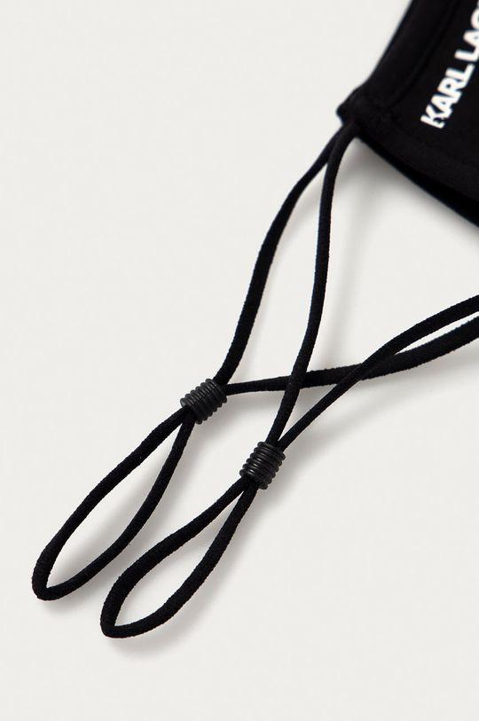 czarny Karl Lagerfeld - Maseczka ochronna (2-pack)