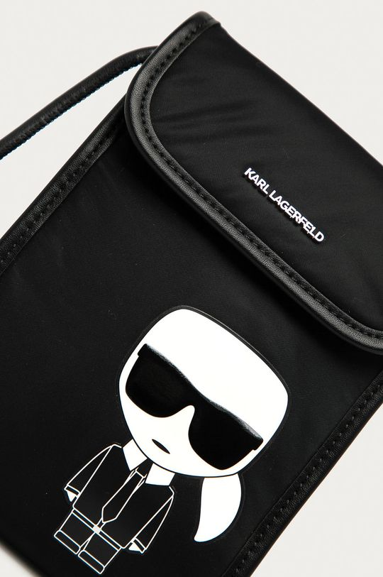 Karl Lagerfeld - Etui na telefon czarny