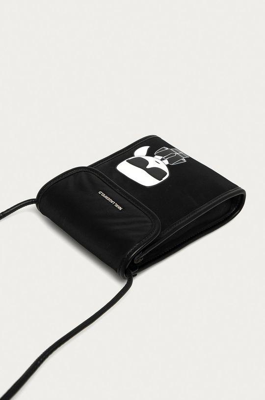 Karl Lagerfeld - Etui na telefon 50 % Poliuretan, 50 % Poliamid z recyklingu