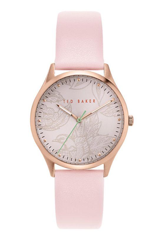 różowy Ted Baker - Zegarek BKPBGS002 Damski
