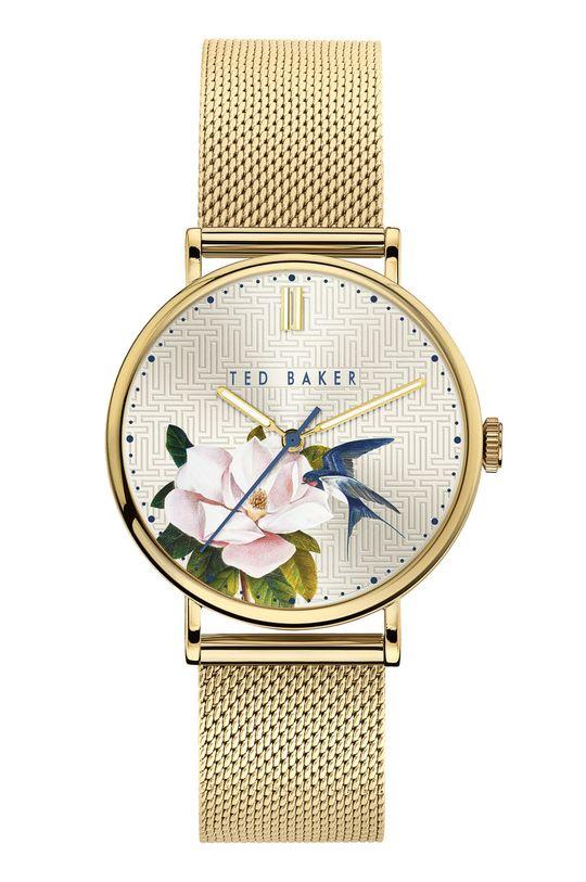 złoty Ted Baker - Zegarek BKPPFF903 Damski