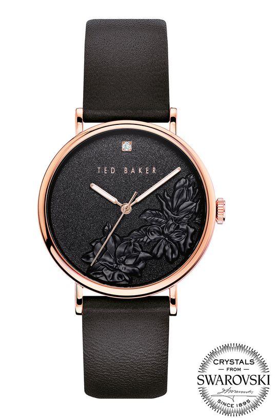czarny Ted Baker - Zegarek BKPPFF904 Damski