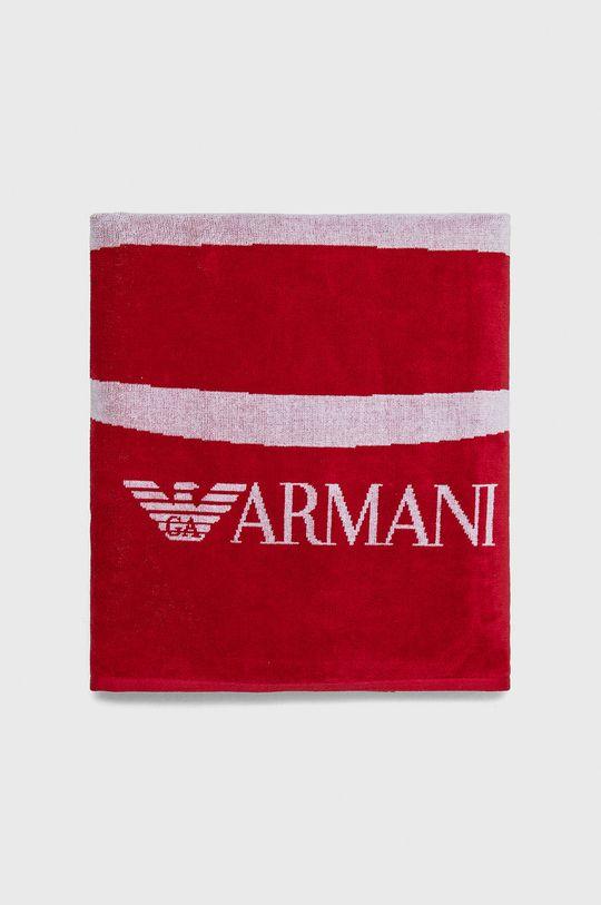 Emporio Armani - Ręcznik czerwony