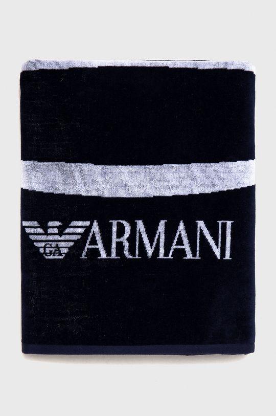 Emporio Armani - Ręcznik granatowy
