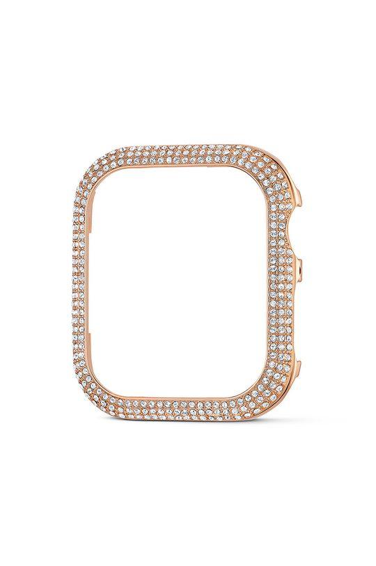 złoty Swarovski - Etui Sparkling Apple Watch Damski
