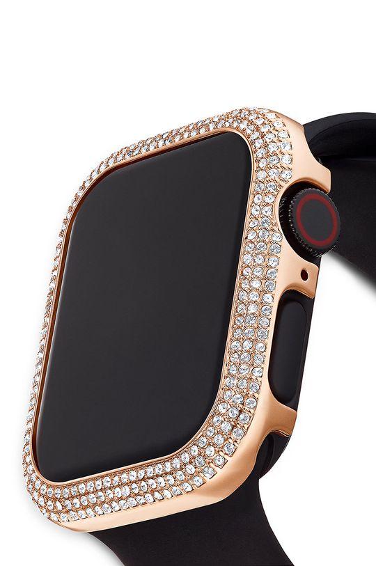złoty Swarovski - Etui Sparkling Apple Watch