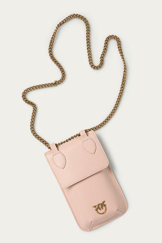 Pinko - Kožený obal na telefon  100% Přírodní kůže