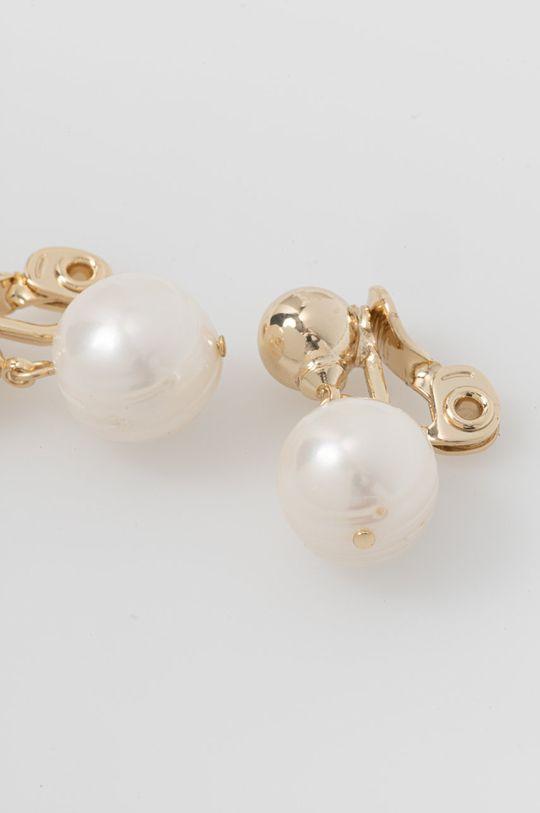 Lauren Ralph Lauren - Náušnice klipsne zlatá