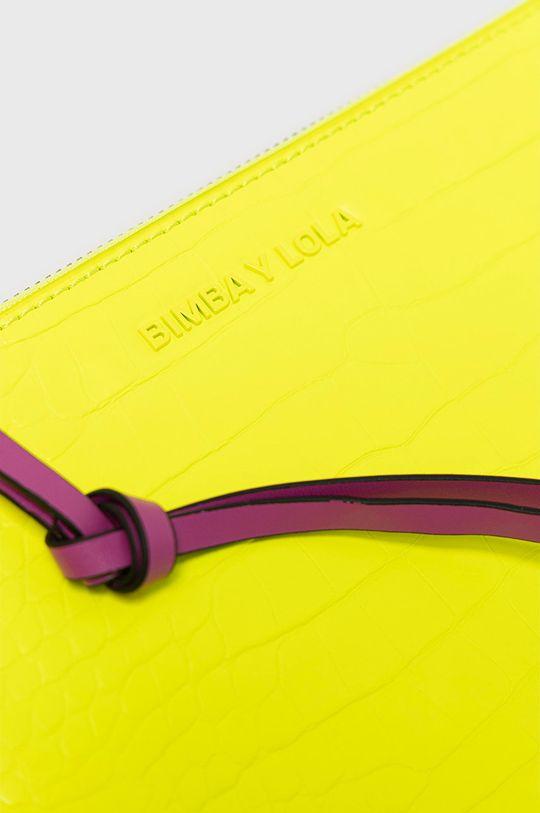 BIMBA Y LOLA - Kozmetická taška žltá