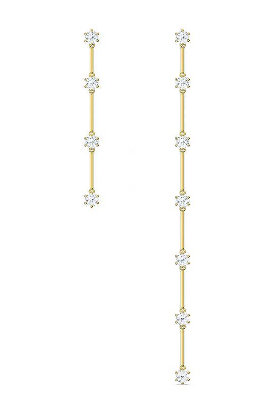 Swarovski - Kolczyki Constella złoty