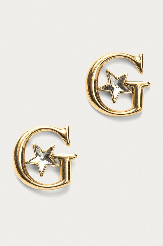 zlatá Guess - Náušnice Dámský