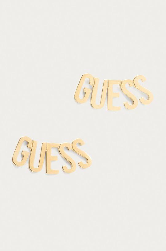 złoty Guess - Kolczyki Damski