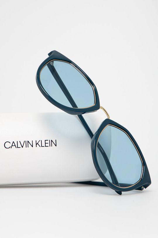Calvin Klein - Okulary przeciwsłoneczne CK18531S Materiał syntetyczny, Metal