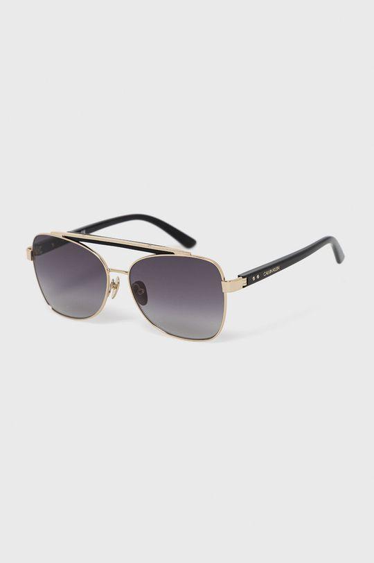 czarny Calvin Klein - Okulary przeciwsłoneczne CK19307S.001 Damski