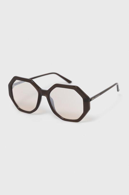czarny Calvin Klein - Okulary przeciwsłoneczne CK19502S.201 Damski