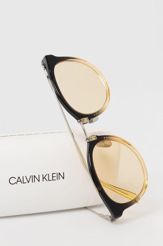 Calvin Klein - Okulary przeciwsłoneczne CK18720S.725 Metal, Plastik