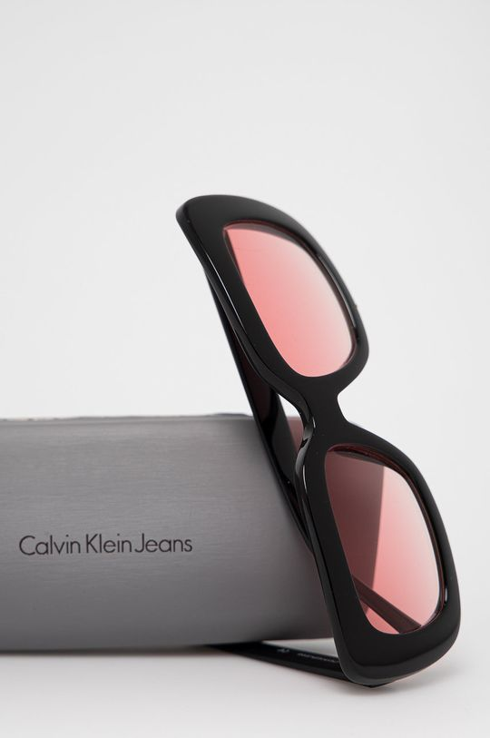 Calvin Klein Jeans - Slnečné okuliare CKJ18502S  Syntetická látka