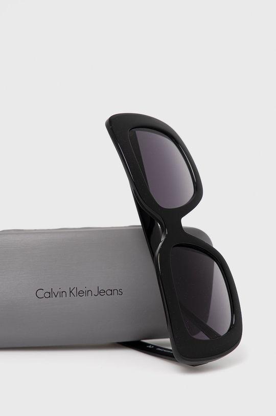 Calvin Klein Jeans - Okulary przeciwsłoneczne CKJ18502S Materiał syntetyczny