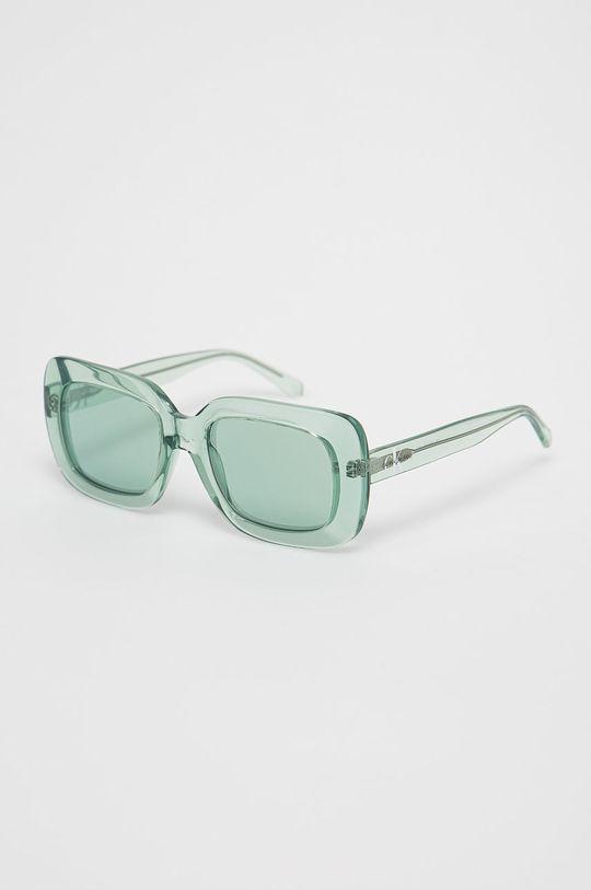 zielony Calvin Klein Jeans - Okulary przeciwsłoneczne CKJ18502S Damski